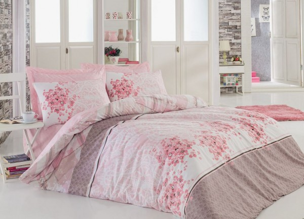 bettw sche baumwolle renforc 135x200 155x220 200x200 80x80cm sonya ebay. Black Bedroom Furniture Sets. Home Design Ideas