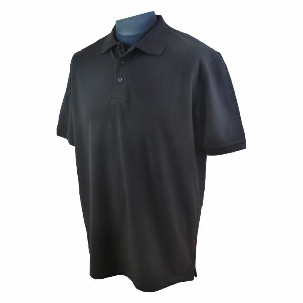 Herren Comfort Poloshirts Schwarz - Gr. S - XXL_01