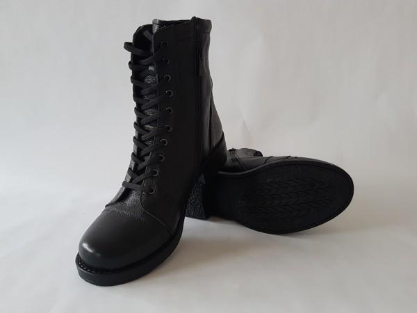 Vennex Damen Boots - Schwarz