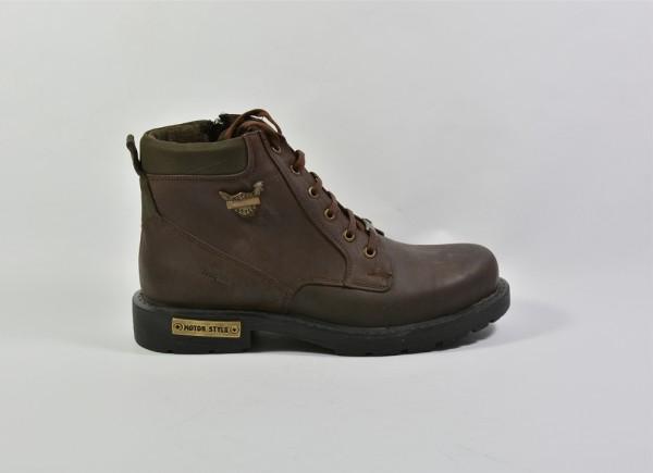 Vennex Textilland Herren Boots - Dunkelbraun