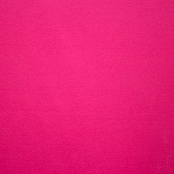 Jersey Baumwolle Stoff - Uni Pink