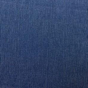 Jeansstoff - Crinkle - Dunkel Blau