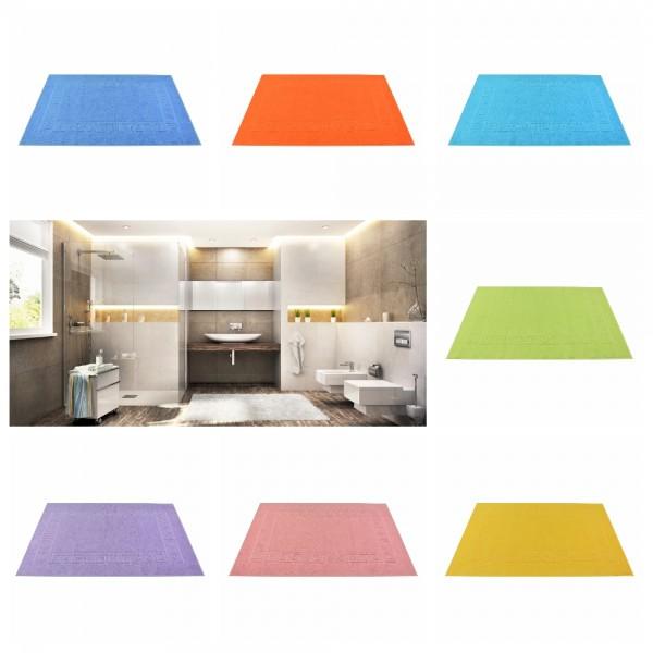 Badvorleger Uni 50 x 70 cm - verschiedene Farben