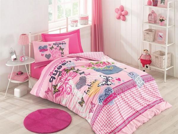 """Renforcé Wendebettwäsche """"Butterfly Queen"""" - V-Home Premium"""