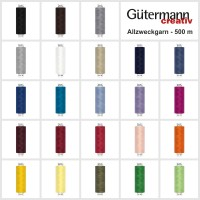Gütermann Toldi Allesnäher-Garn - 500 m - 30 Farben