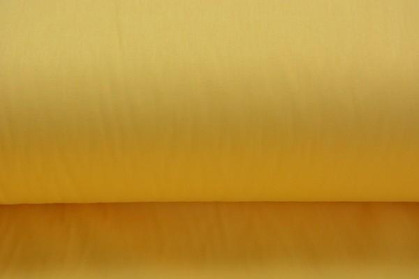 Baumwolle Uni - Gelb - 240 cm breit - 9,95 € / 1 Meter