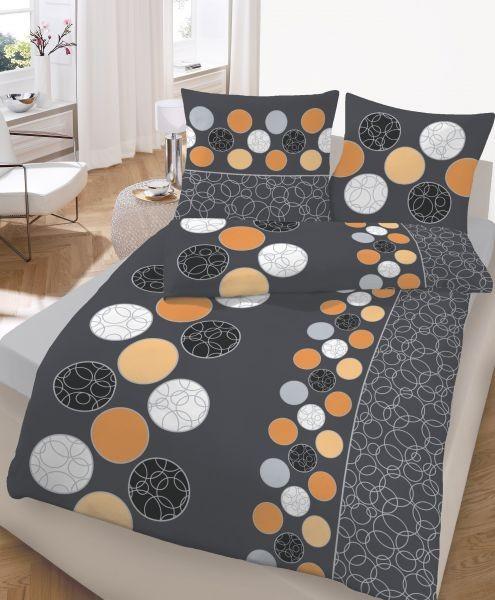 Kreise - Anthrazit - Orange
