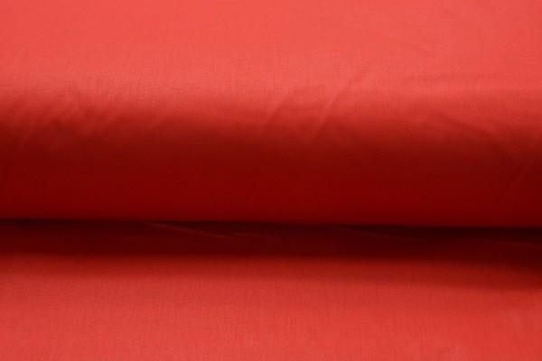 Baumwolle Uni - Rot - 240 cm breit - 8,00 € / 1 Meter