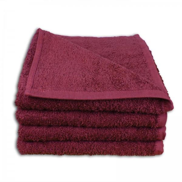 Handtuch - Weinrot