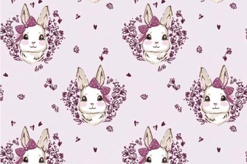 Bunny mit Schleife