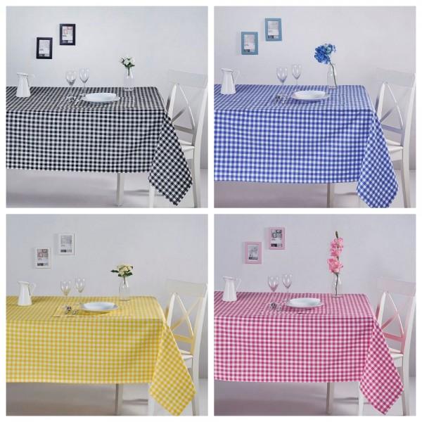 Tischdecken und Tischläufer Line Series - Karo