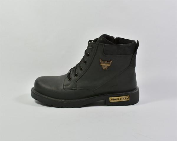 Vennex Textilland Herren Boots - Schwarz