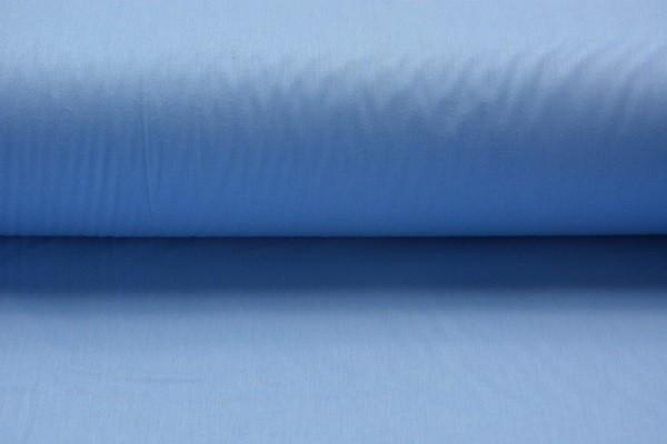 Baumwolle Uni - Blau - 240 cm breit - 8,00 € / 1 Meter