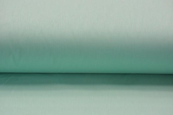 Baumwolle Uni - Mint - 240 cm breit - 8,00 € / 1 Meter