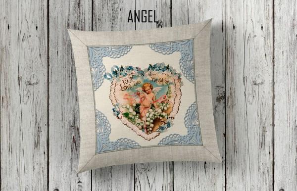 Zierkissen 40 x 40 cm - ANGEL