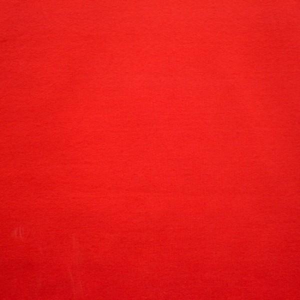Jersey Baumwolle Stoff - Uni Rot