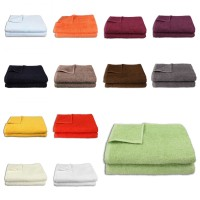 Handtücher, Duschtücher, Saunatücher, Waschhandschuhe, in 14 verschiedenen Farben