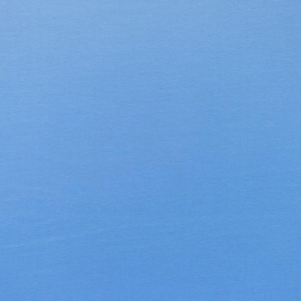 Jersey Baumwolle Stoff - Uni Altblau