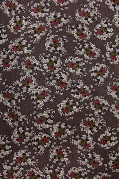 Wolle - Bekleidungsstoff - Pusteblumen abstrakt - 88 cm breit - 9,95 € / 1 Meter