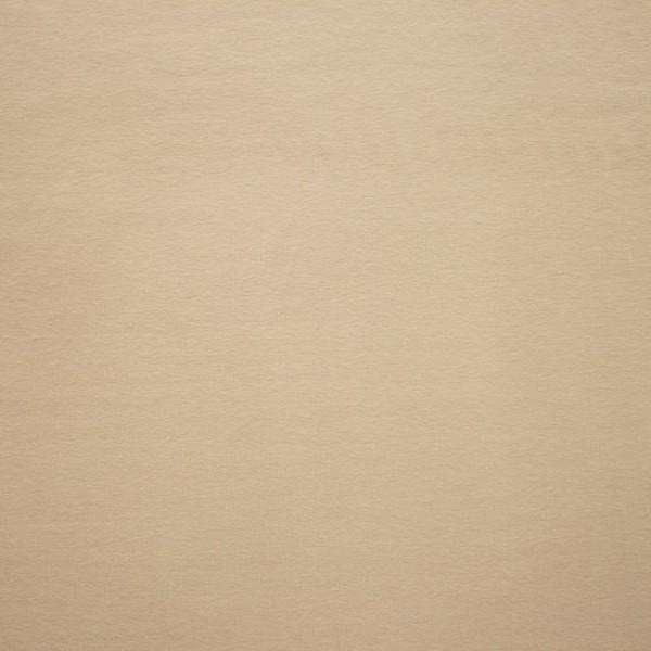 Jersey Baumwolle Stoff - Uni Beige Sand