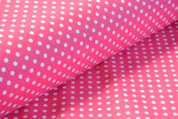 Baumwolle Dekostoff - Punkte - Pink - 240 cm breit - 12,95 € / 1 Meter