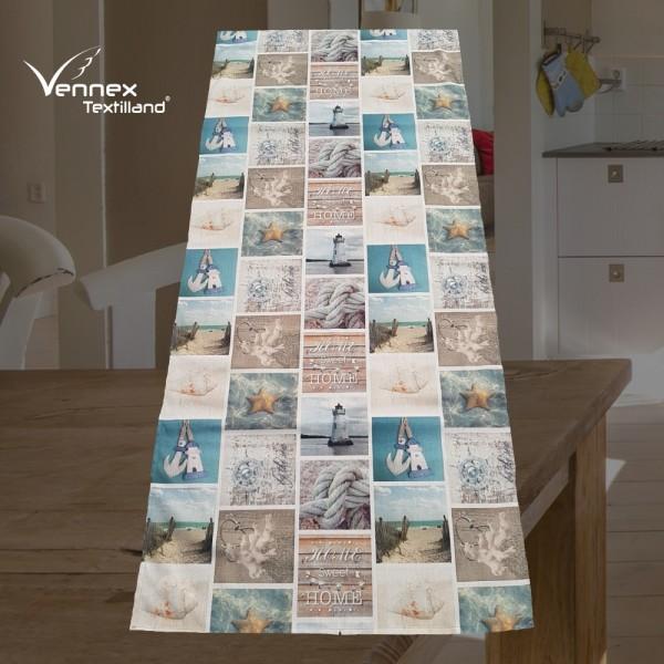 Tischläufer - Maritim Patchwork - Vennex Handmade_01