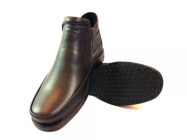 Vennex Textilland Herren Boots Dunkelbraun