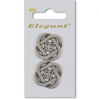 2er Silber - Knoten