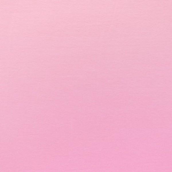 Jersey Baumwolle Stoff - Uni Rosa