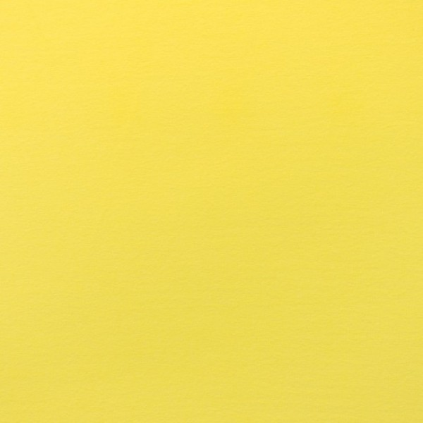 Jersey Baumwolle Stoff - Uni Gelb