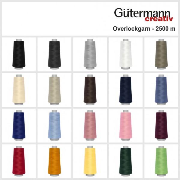 Gütermann Toldi Overlock-Garn - 2500 m - 20 Farben