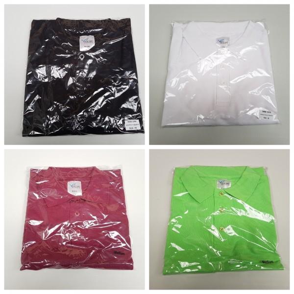 Herren Comfort Poloshirts - 4 Farben - Gr. XS-XXXL