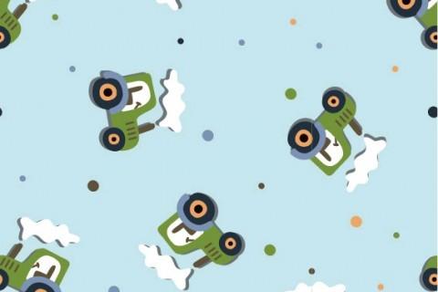 Traktor - Grün