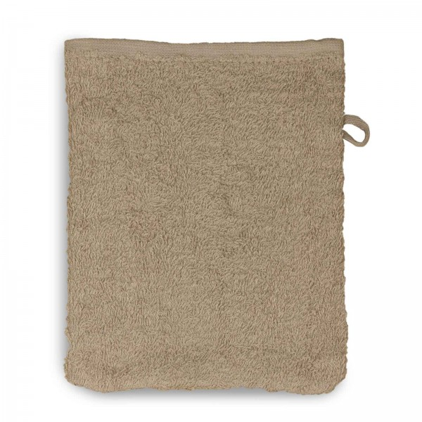 Waschhandschuh - Taupe