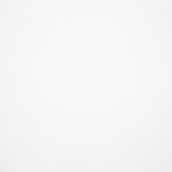 Jersey Baumwolle Stoff - Uni Weiß